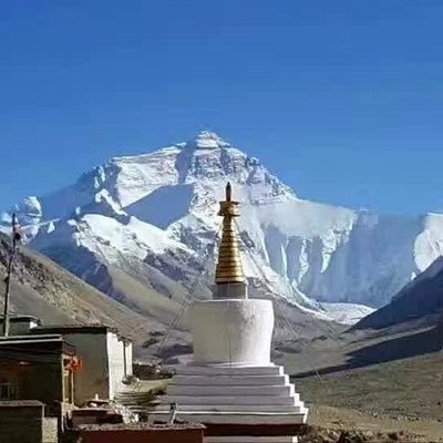 Mt. Everest View from Rongphu Monastery, authentic Tibet trip with local insiders