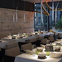 Interior restaurante de carnes Vaca Nostra