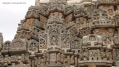 carvings at temple