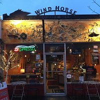 Wind Horse Coffee opens at 5:30 am on weekdays!