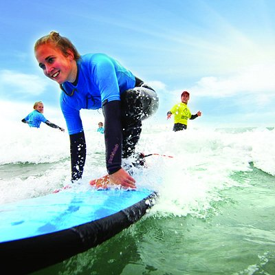 Qualified, personal coaches in the water to help you