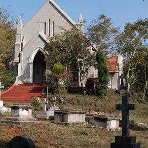 Front of Holy Trinity Church