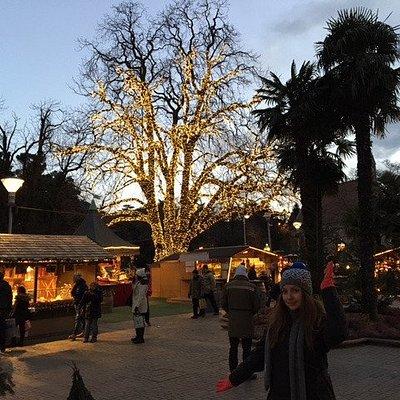 Weihnachtsmarkt Meran im Januar 2017