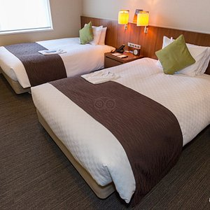 The Standard Twin Room at the Hotel Comsoleil Shiba Tokyo
