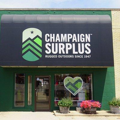 Champaign Surplus Store Front