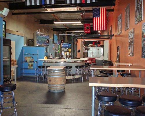 Interior of Brewery