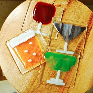 Make a set of coasters during drop-in hours! $55