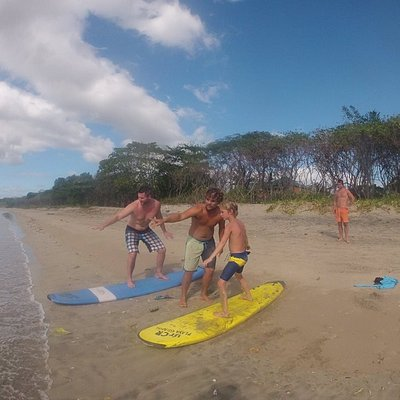 Surf Lessons for kids and adults - Playa Grande