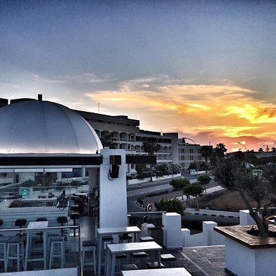 THE DOME SUNSET