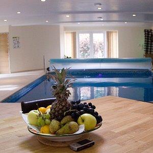 We have 7mx5m pool at Hydeaway Spa www.londonbanya.co.uk