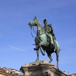 Il cavaliere sui tetti ....