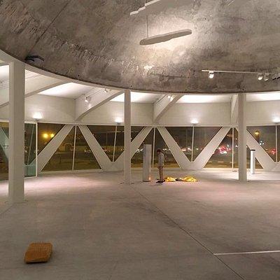 Sharjah Art Foundation's Flying Saucer building