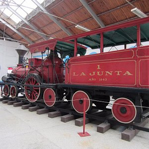 the first locomotive used in Cuba