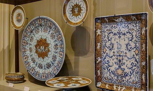 Musée de la céramique à Rouen.
