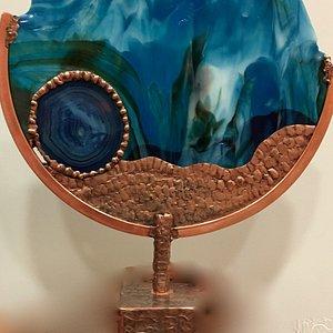 """Cleopatra's Fan"" Wertheim Gallery Maui"