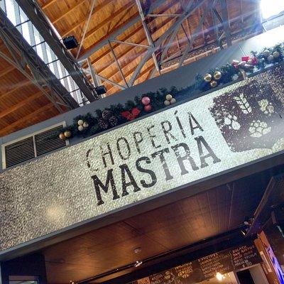 Choperia no Mercado Agrícola de Montevidéu