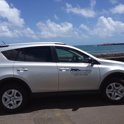This is one of our Pono Express private car vehicles on Kauai.