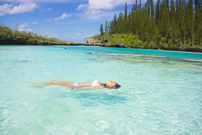 The Isle of Pines in New Caledonia