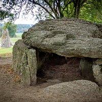 De dolmen van Wéris - Noordelijk ganggraf