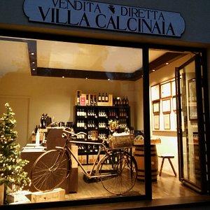 Villa Calcinaia Wine Shop