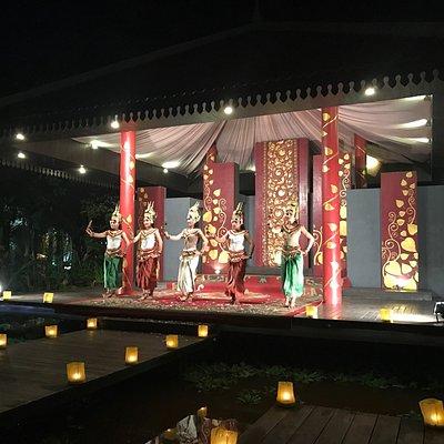 The Culture Night at Borei Angkor