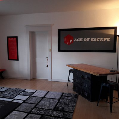 Lobby of Ace of Escape's 236 S. Scott Ave. Location in downtown Tucson