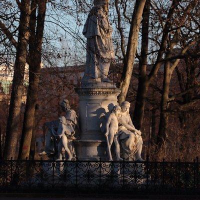 Goethe-Denkmal at Tiergarten