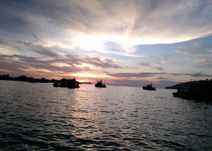 Лахад-Дату города Малайзии на острове Борнео Lahad-Datu