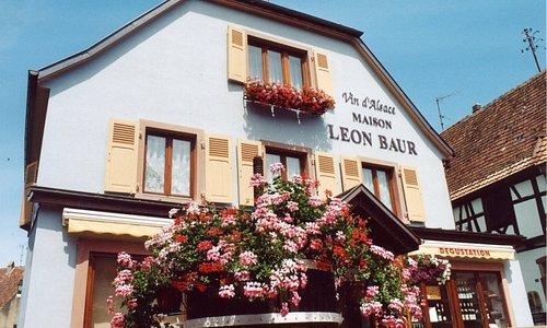 Bienvenue à la Maison Léon Baur, vigneron indépendant à Eguisheim-centre.