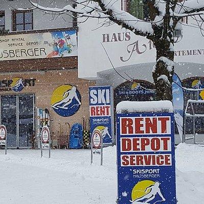 Skisport Hausberg loving the conditions