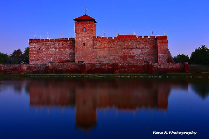 Gyula.is a town in Békés County, Hungary. The town is best known for its Medieval castle and a t