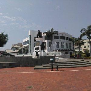 Guayaquil, Ecuador, Plaza de Olmedo.