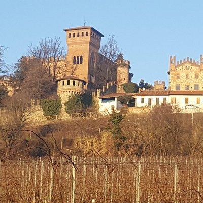 Vista Castello di Gabiano