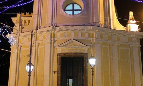 Facciata Chiesa Santa Maria delle Grazie in San Pietro