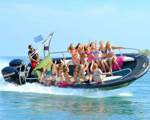 Kavos' #1 Action adventure boat trip!