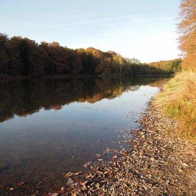 le lac des 7 chevaux début novembre