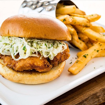 Topgolf Fried Chicken Sandwich
