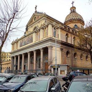 Chiesa di San Gioacchino - Roma, Quartiere Prati.