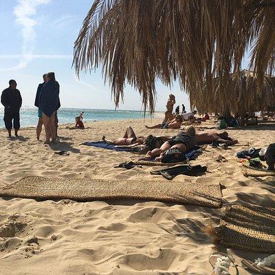 Stranden på Mahmya