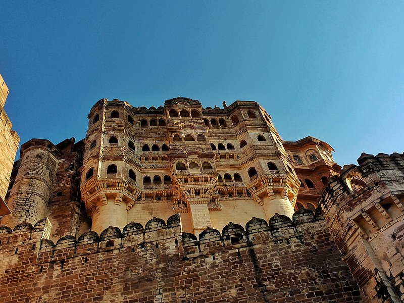 View from outside of Mehrangarh Fort
