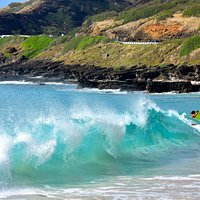 LOTS OF WAVES, BIG AND SMALL FOR EVERYONE