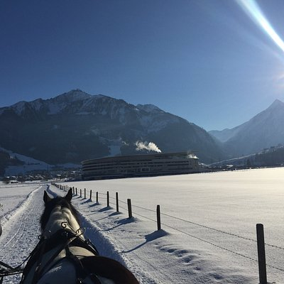 Blick zum Kitzsteinhorn
