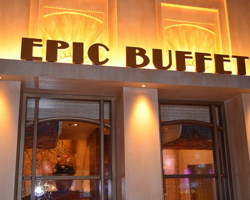 Epic Buffet 1 of 4 restaurants located on site.