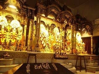 The beautiful darshan