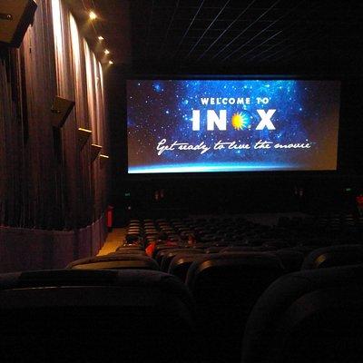 watching movie @ INOX