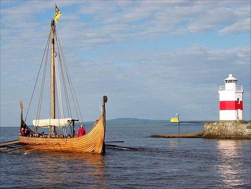 Skön tur från Lidköpings hamn till Blombergs Hamn !