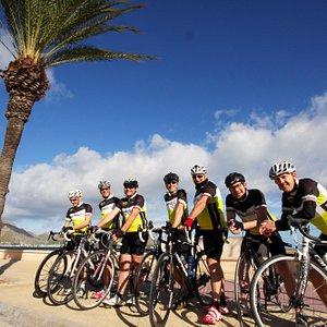 Riding the beautyful island of Mallorca