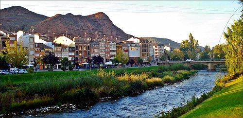 Río Najerilla a su paso por Nájera