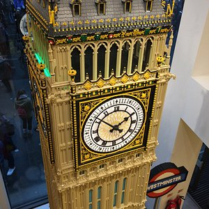 Another amazing model, this one of the Big Ben tower