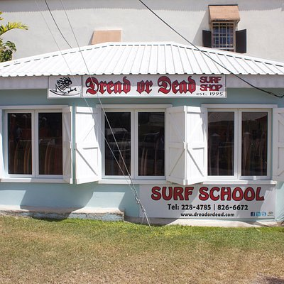 The New Dread or Dead surf shop